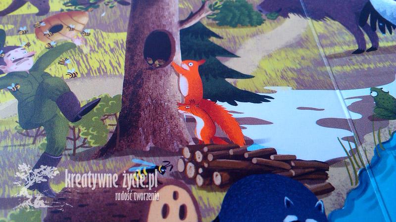 Rok w lesie wiewiórki