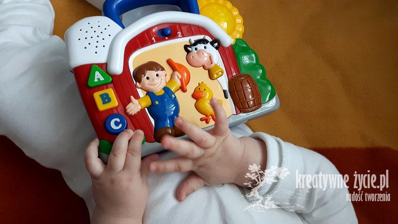 Zabawka interaktywna smiley play
