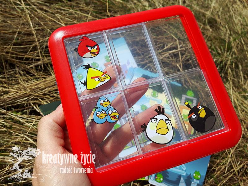 Gra logiczna Angry Birds Na górze
