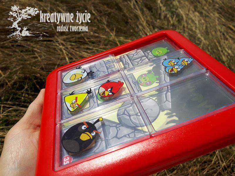 Gra logiczna okienka Na górze Angry Birds