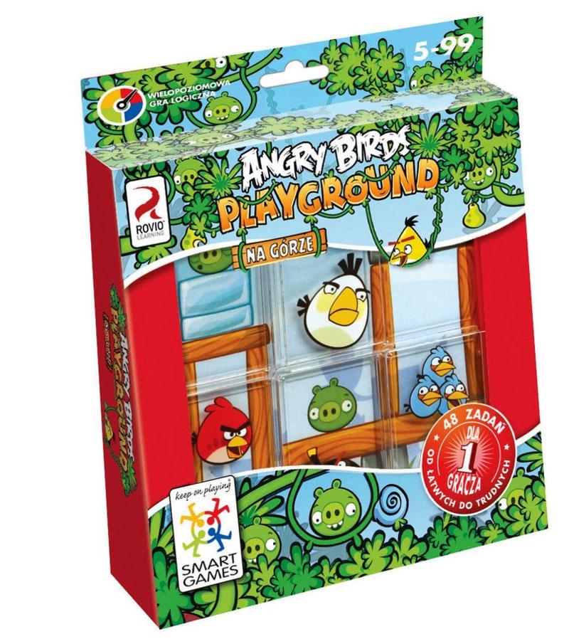 Gra manualna Angry Birds na górze