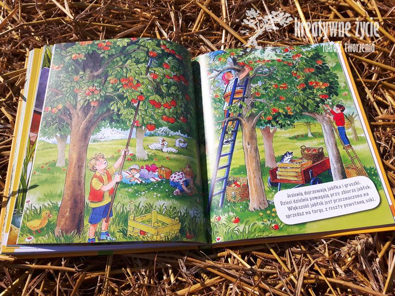 Anne Suess w sadzie