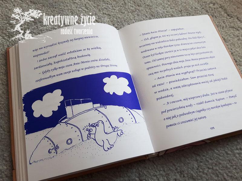 Dziennik Prosiaka łódz kapitana foki