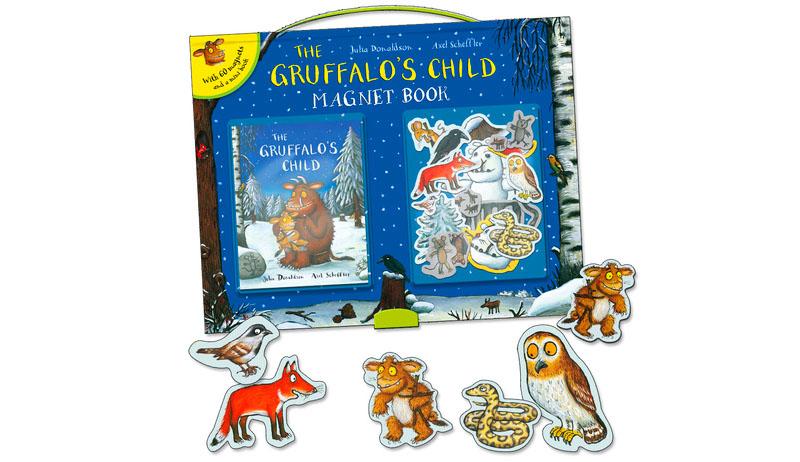 Gruffalo książka magnetyczna