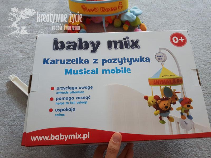 Karuzela Baby Mix pszczółki