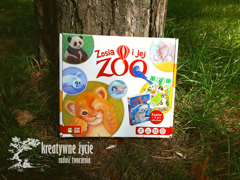 Zosia i jej Zoo GRa planszowa