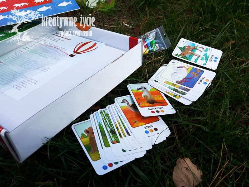 Zosia i jej zoo karty do gry