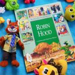 Robin Hood dla dzieci z ilustracjami Tonego Wolfa
