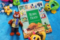 Robin Hood ilustracje Tony Wolf