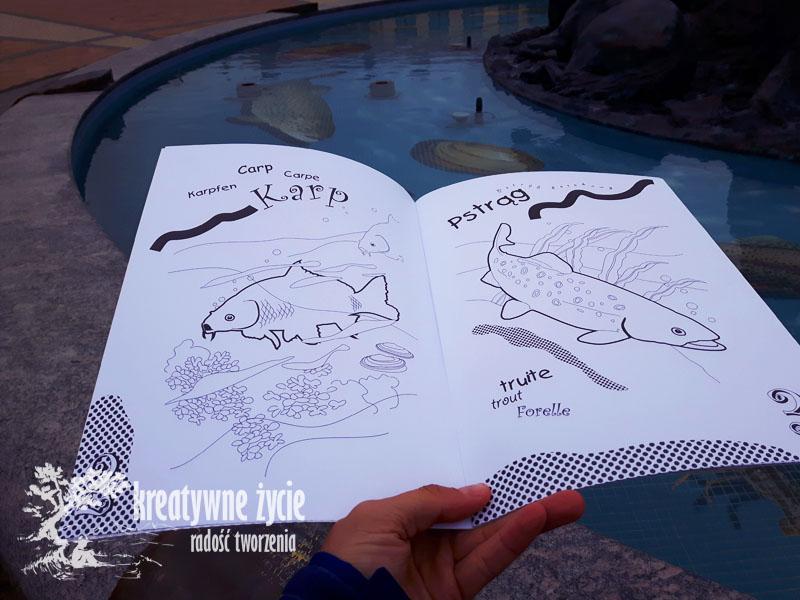 Ryby malowanka Puls Art