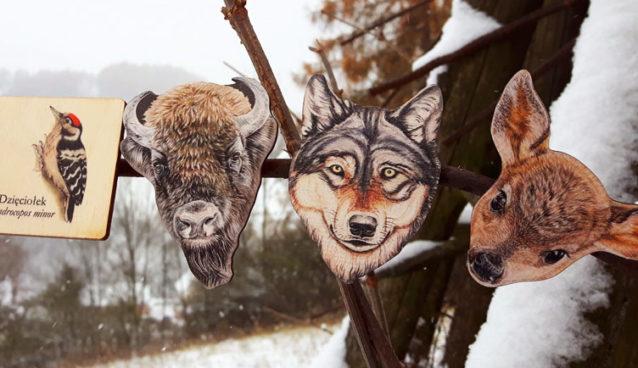 Puls Art drewniane magnesiki