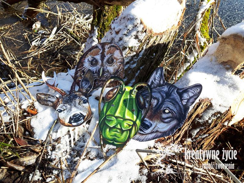 Maski zwierząt Puls Art