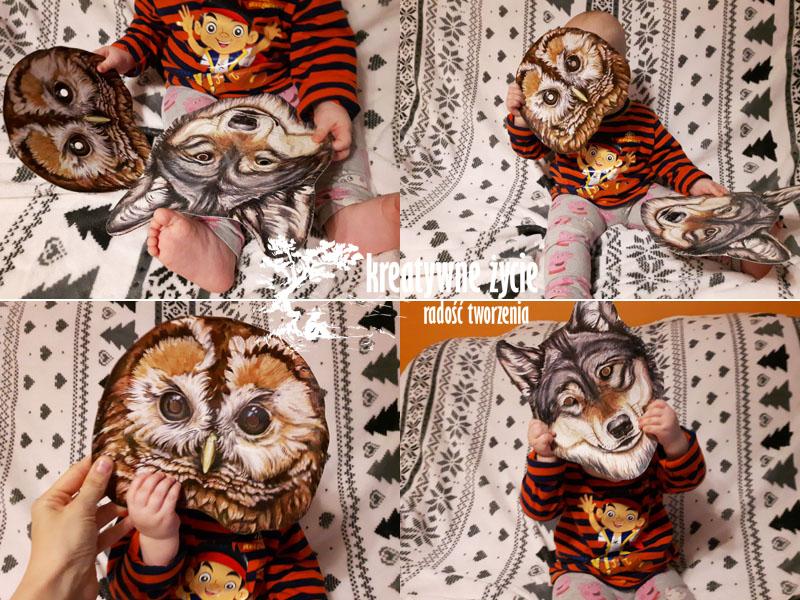 Maski zwierzęta dla dzieci