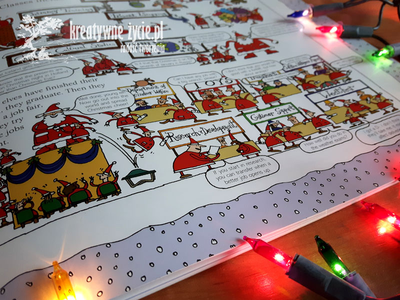 Jak pracuje święty Mikołaj Alan Snow