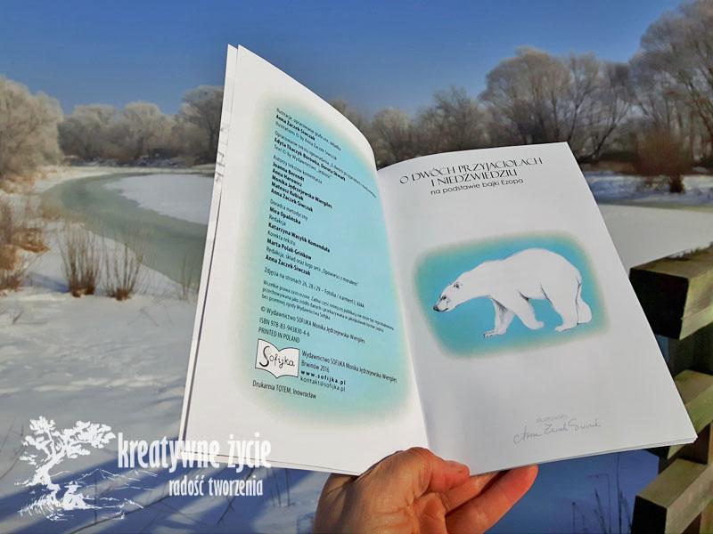 Wydawnicwto Sofijka O dwóch przyjaciołach i niedźwiedziu