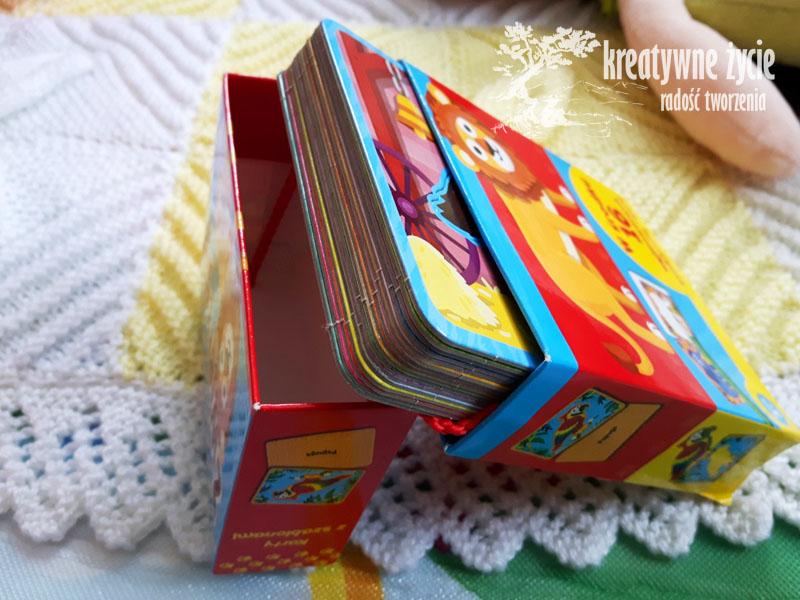 Kolorowe karty dla dzieci