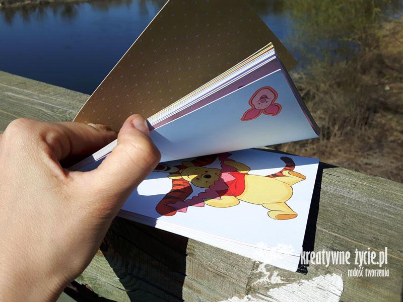 Pocztówki z Kubusiem Puchatkiem na różne okazje