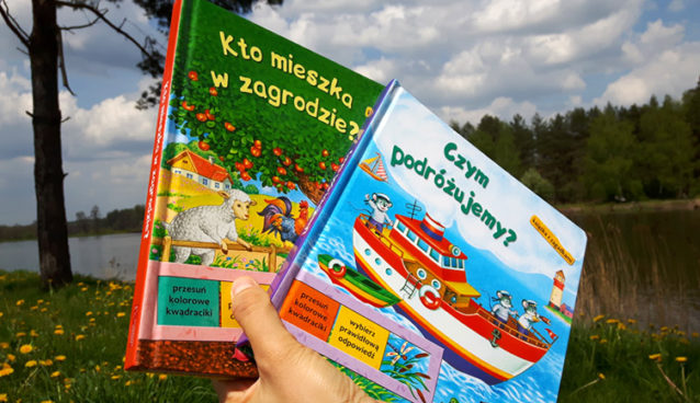 Książeczki z okienkami do przesuwania Olesiejuk