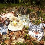 Maski zwierząt do domowego teatrzyku