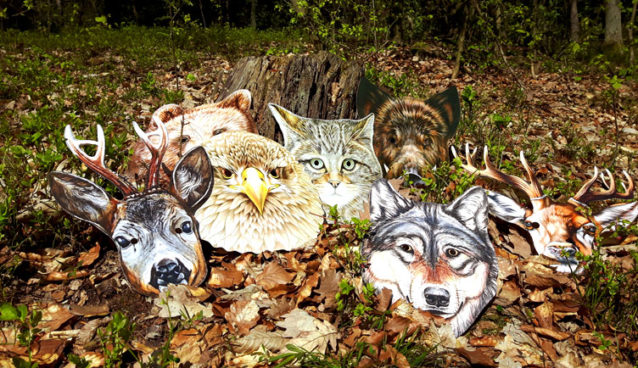 Maski Spirit Animals Puls Art