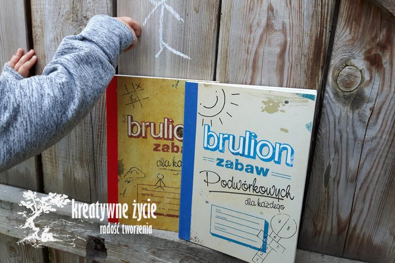 Brulion zabaw dla dzieci