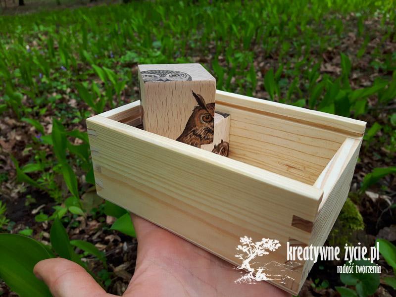 Klocki drewniane nauka ptaków
