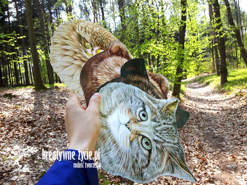 Leśne zwierzęta maski Puls Art