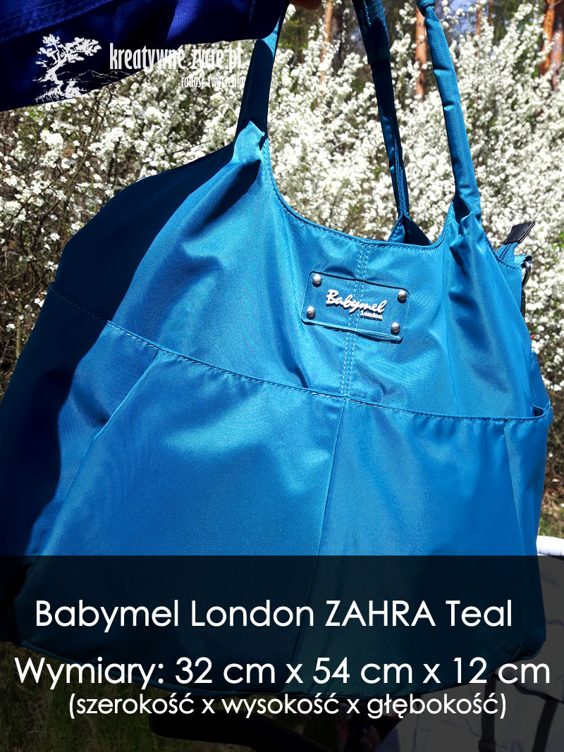 Wymiary torby Babymel London