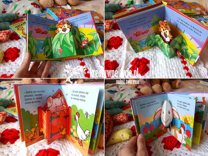 Rozkładanki 3D w książce Wilga