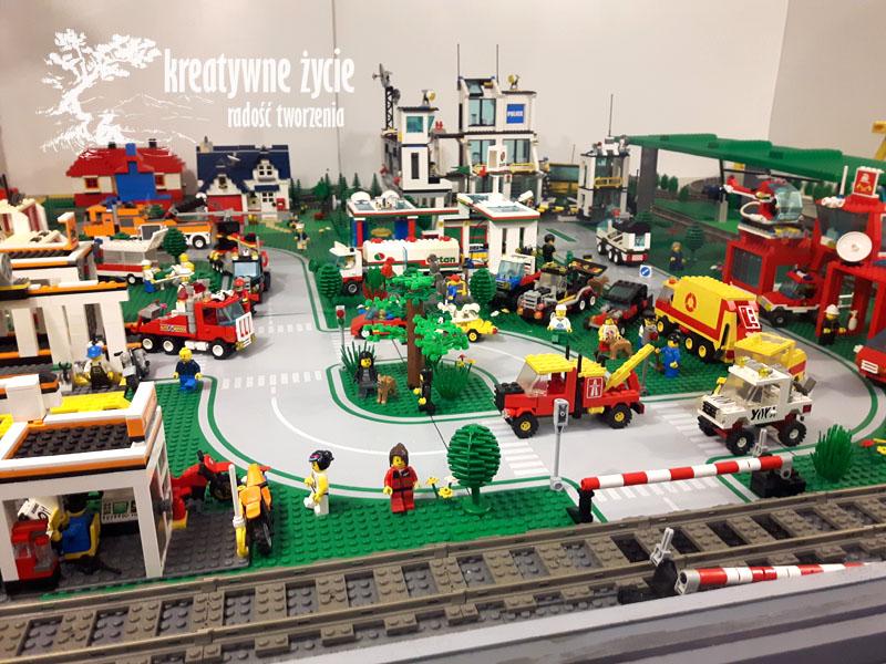 Makieta z klocków Lego w Muzeum Zabawek