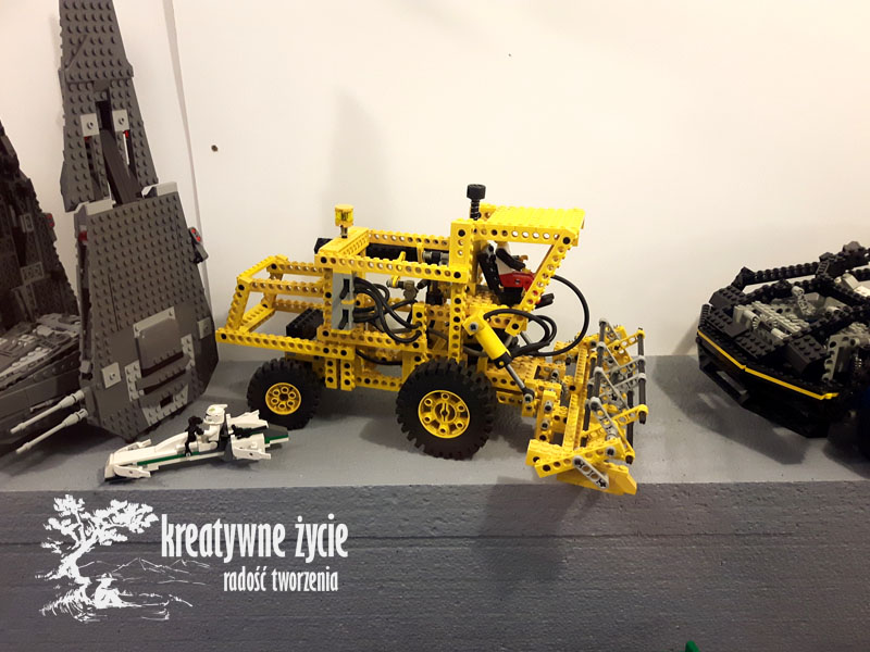 Kombajn z Lego