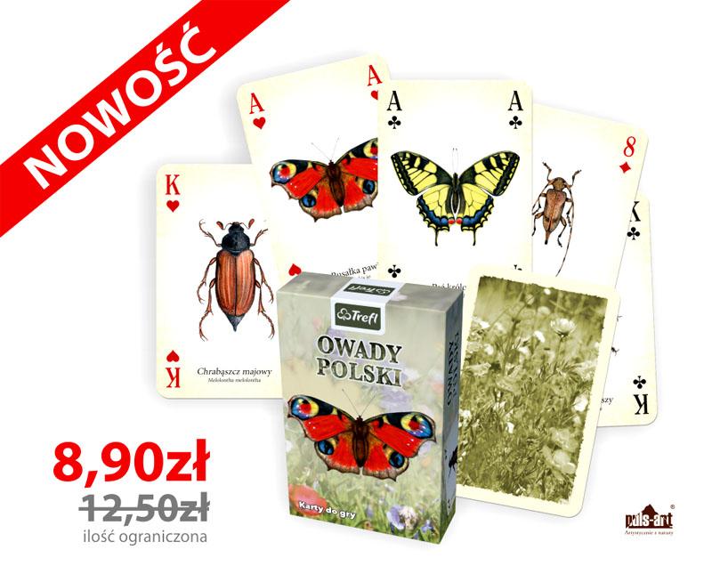 Karty do gry owady