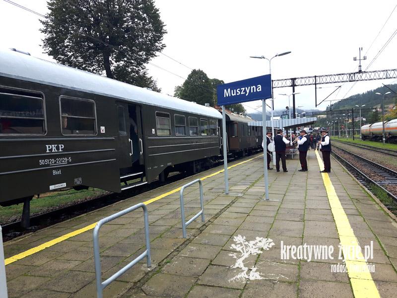 Pociąg retro Muszyna