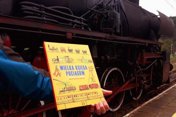 Książka dla dzieci o pociągach