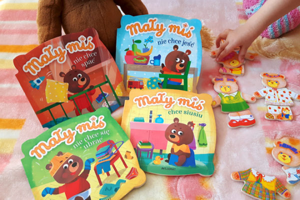 Zabawki i książki z motywem misiów