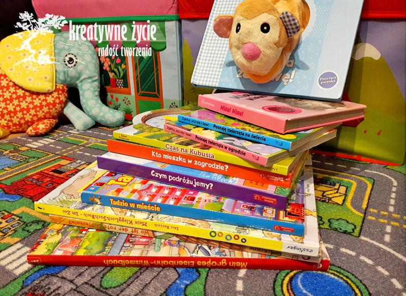Książki dla dzieci pobudzające zmysły
