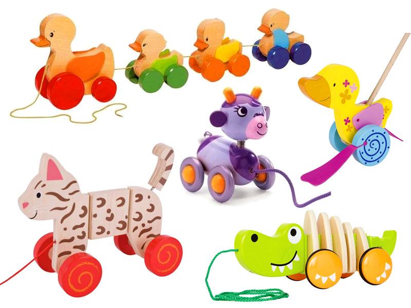 Zabawki na sznurku dla 2 latka