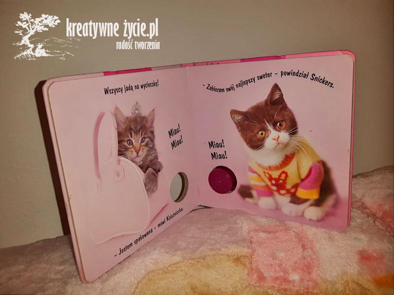 Książeczka o kotach z dźwiękiem