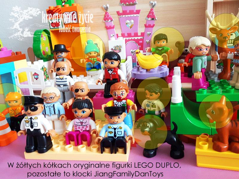 Podróbki ludzików Lego DUPLO