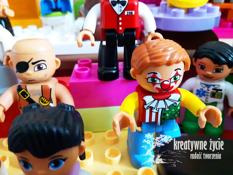 Klaun podróbka Lego Duplo