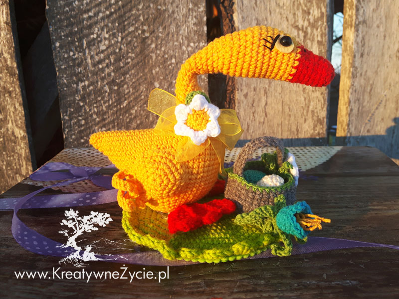 Crochet bird diy