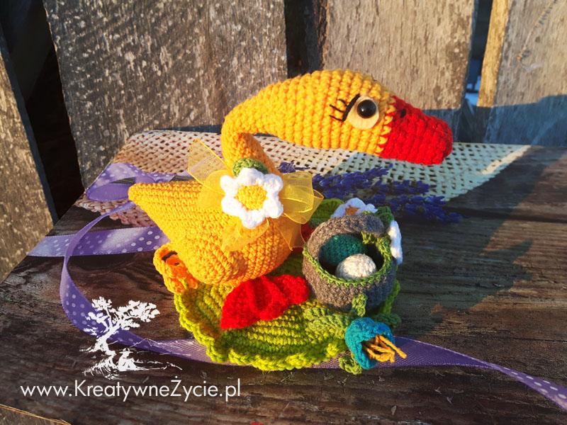 Crochet bird diy