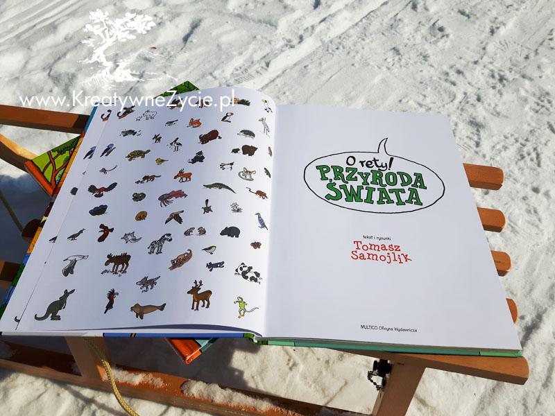 Duży album o przyrodzie dla dzieci