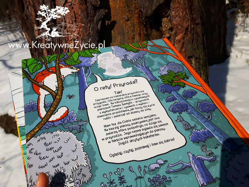 O rety przyroda - komiks Samojlika