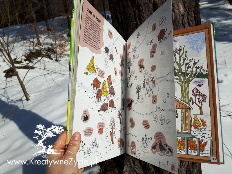 O rety przyroda - zima na wsi