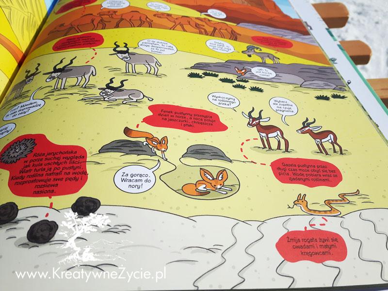 Przyroda świata - komiks