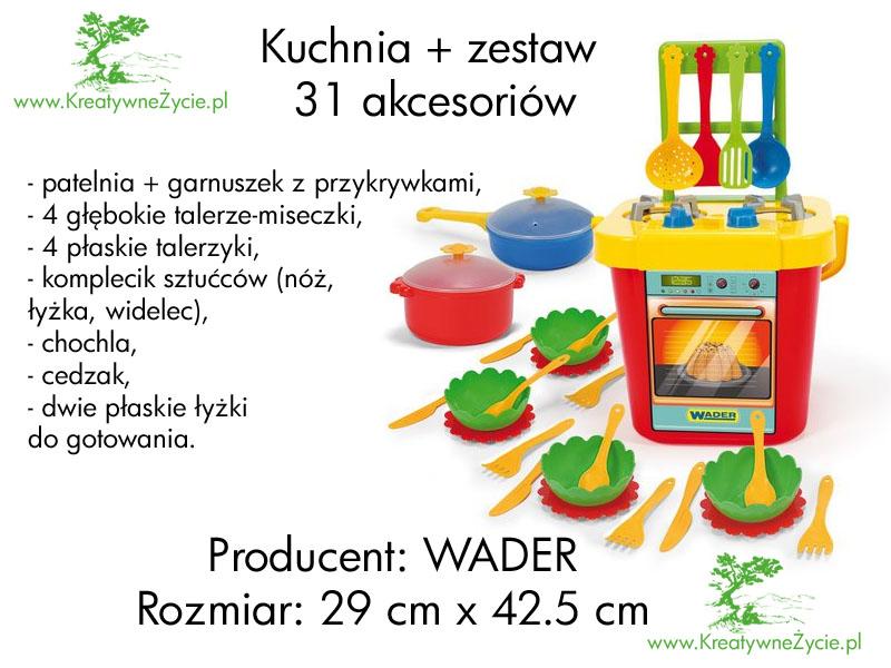 Kuchnia Wader dla dzieci