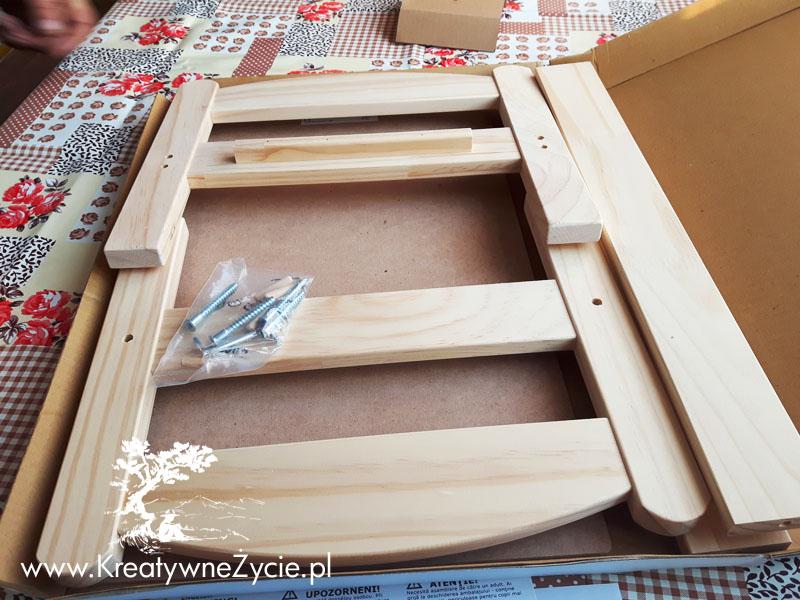 Łóżeczko Ikea w częściach