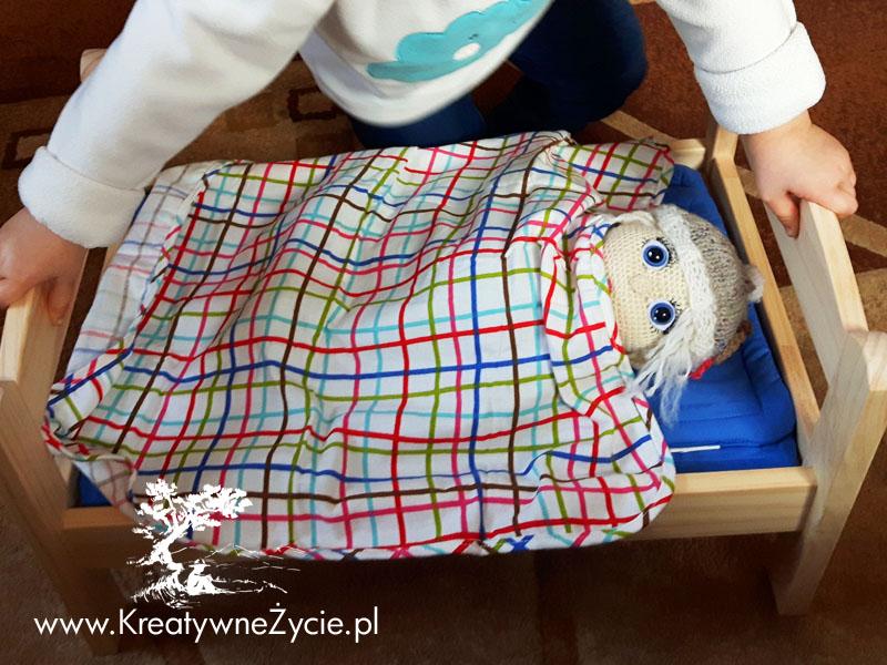 Łóżeczko dla lalek z Ikei