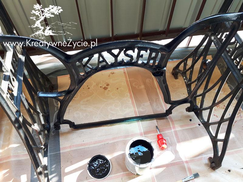 Renowacja maszyny Kayser